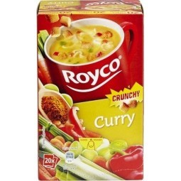 ROYCO Crunchy curry soupe 20 pc EPICERIE BELGE CHOCKIES