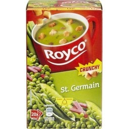 ROYCO Crunchy St Germain 20 pcs EPICERIE BELGE CHOCKIES