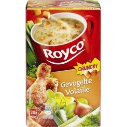 ROYCO Crunchy volaille 20 pcs - EPICERIE BELGE CHOCKIES