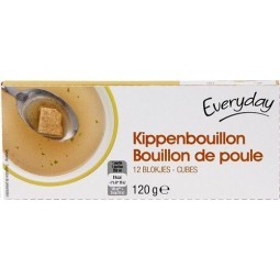 EVERYDAY bouillon poule 12x10gr - EPICERIE CHOCKIES