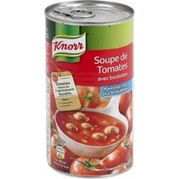 Knorr tomates boulettes 515ml - soupe boite chockies
