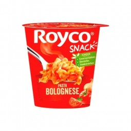Royco snack pasta Bolognese 70 gr CHOCKIES instant