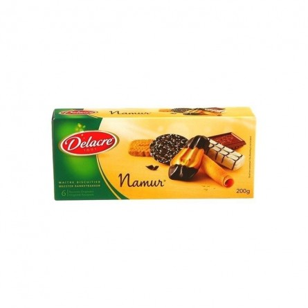 Delacre Namur assortiment biscuit 200 gr CHOCKIES