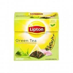 Lipton Green Tea Indonésie Sencha 20 pc CHOCKIES belge
