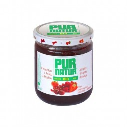 Pur Natur confiture bio 4 fruits rouges 450 gr CHOCKIES