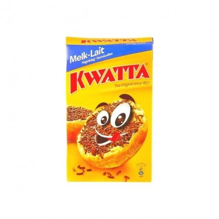 Kwatta granulated vermicelli chocolate milk 400 gr CHOCKIES