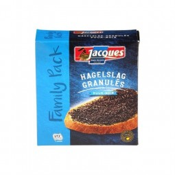 Jacques granulated vermicelli dark chocolate 350 gr CHOCK