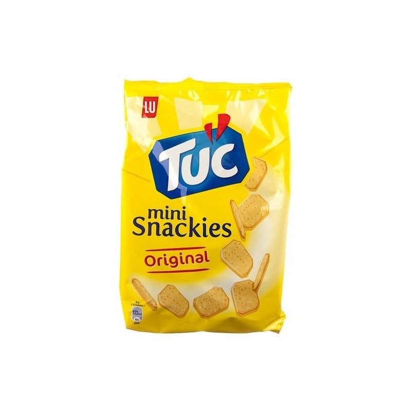 LU Tuc Mini Snackies Original 100 gr CHOCKIES snacks