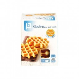 Boni Selection gaufres vanille maltitol 150 gr CHOCKIES