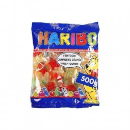 Haribo ABC gommes molles 500 gr EPICERIE CHOCKIES