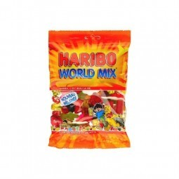 Haribo World Mix 400 gr EPICERIE BELGE CHOCKIES