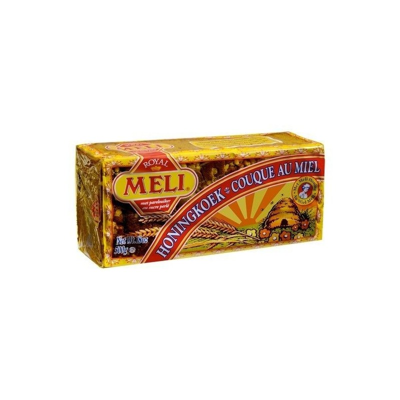Meli couque au miel Royal sucre perlé 500 gr CHOCKIES