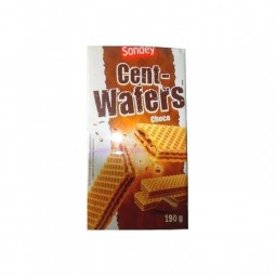 L/ Sondey gaufrettes Cent wafers choco 190 gr CHOCKIES