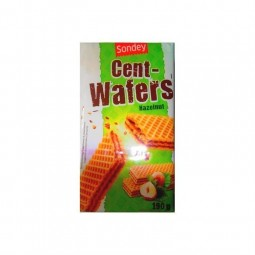 L/ Sondey gaufrettes Cent wafers noisette 190g CHOCKIES