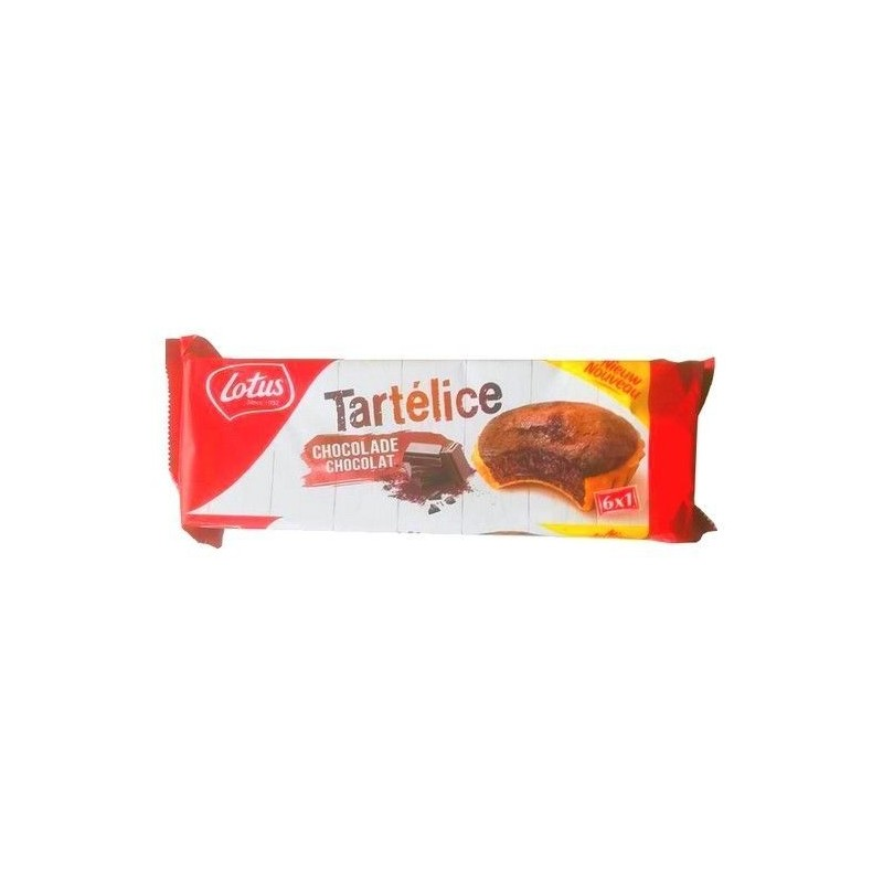 Lotus 6 Tartelice chocolate 333 gr EPICERIE CHOCKIES