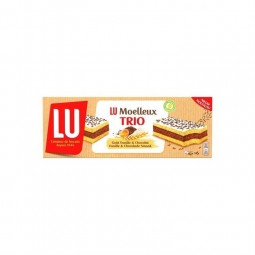 LU Moelleux nature trio 180 gr CHOCKIES epicerie fine