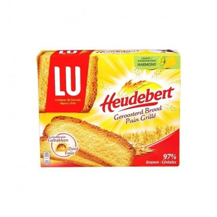 LU Heudebert toasted bread 500 gr Chockie superette belge