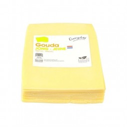 Everyday gouda jeune tranches sc ± 500 gr BELGE CHOCKIE