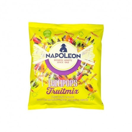 Napoléon fruit mix lollipops (sucettes) 350 gr CHOCKIES