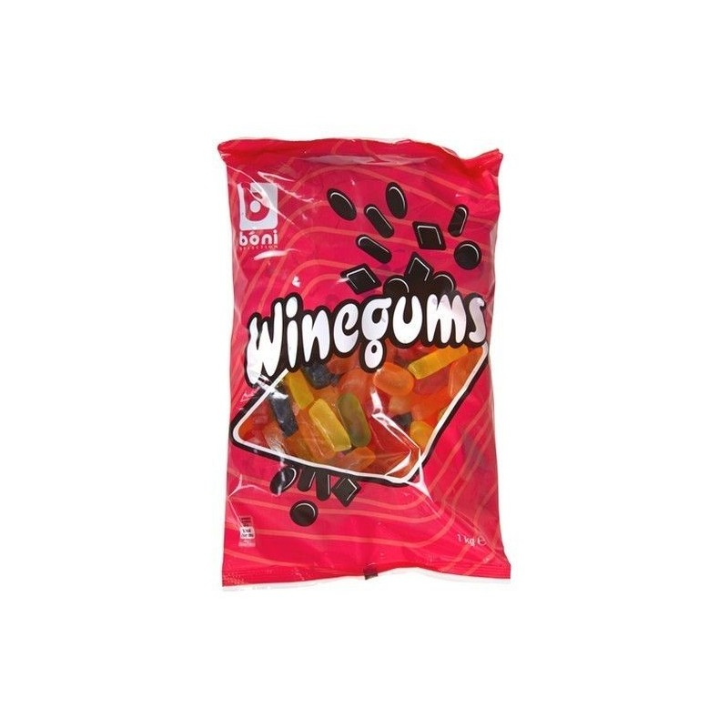 Boni Selection English Winegums 1 kg EPICERIE CHOCKIES