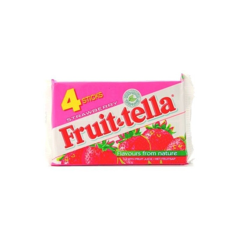 Fruittella bonbon Strawberry (fraise) 4x 41 gr CHOCKIES