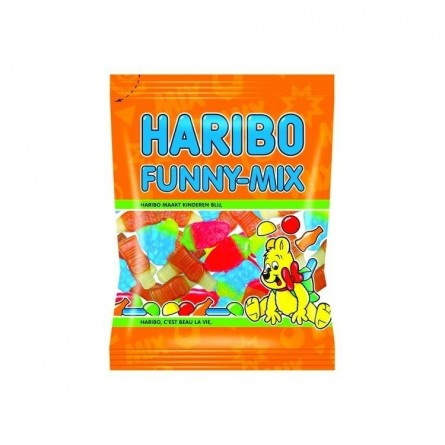 Haribo Funny mix 500 gr EPICERIE BELGE CHOCKIES