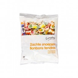 Everyday bonbons tendre aux fruits 500 gr CHOCKIES