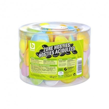 Boni Selection hosties acidulées 125 gr CHOCKIES bonbon