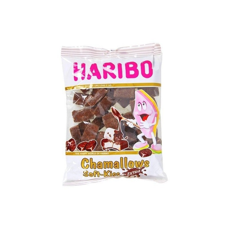 Haribo chamallows soft kiss extra 400 gr CHOCKIES