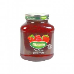 Materne confiture 4 fruits rouges 720 gr