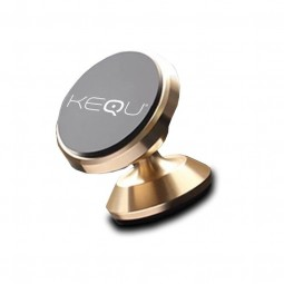 Magnetic Kequ mounts for all smartphones and GPS for car with 360 ° rotation