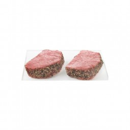 Steak of beef with pepper...