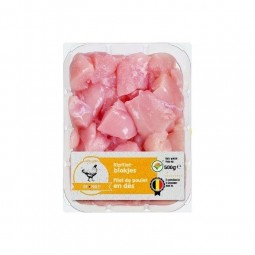 L / Diced chicken breast fillet 500 gr