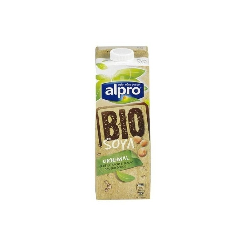 Alpro drink soja Original bio brique 1 L - CHOCKIES