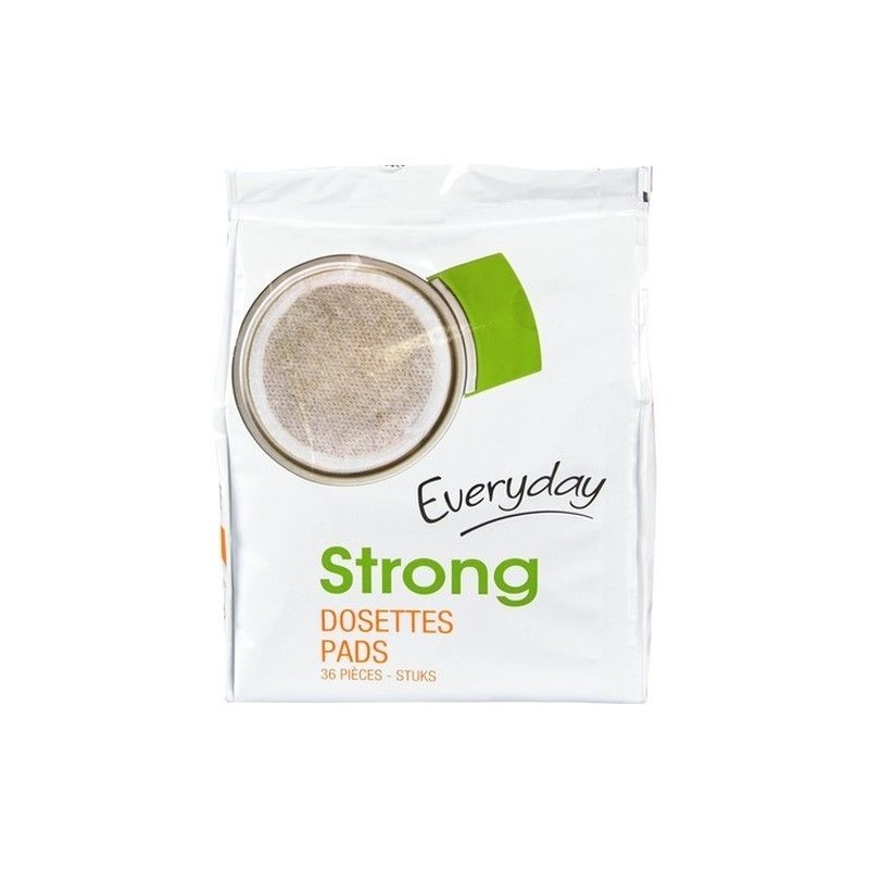 Everyday café strong 36 dosettes 252 gr BELGE CHOCKIES