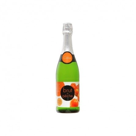 Everyday cidre brut de pêche 5% 75cl - belge chockies