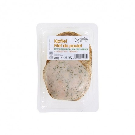 Everyday filet poulet fines herbes tranches 200 gr