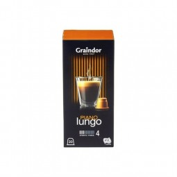 Graindor café Lungo Piano 20 capsules CHOCKIES belgique