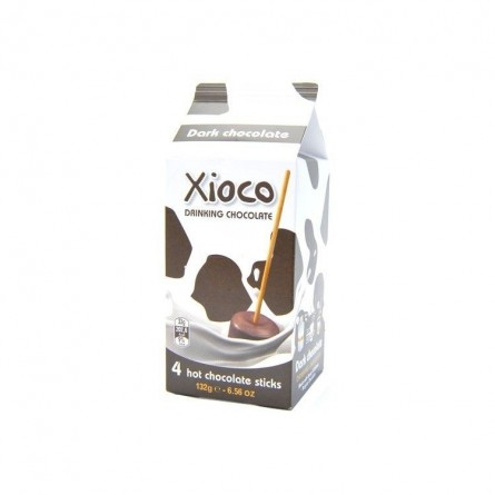 Xioco Dark chocolat chaud en sticks 132 gr CHOCKIES