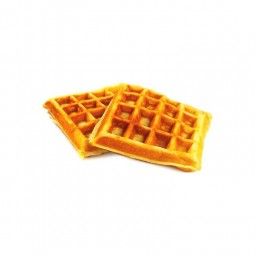 Everyday waffles with eggs