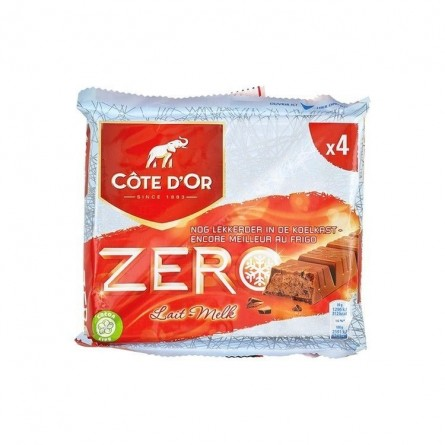 Cote d'Or zero lait fourré cacao 4x 50 gr CHOCKIES