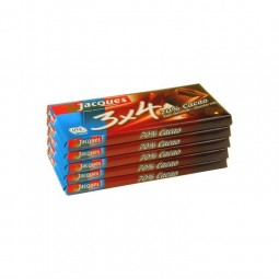 Jacques 3x4 70% cacao 5x 40 gr CHOCKIES magasin belge