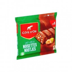 Cote d'Or milk chocolate hazelnuts bits 4x 45 gr CHOCKI