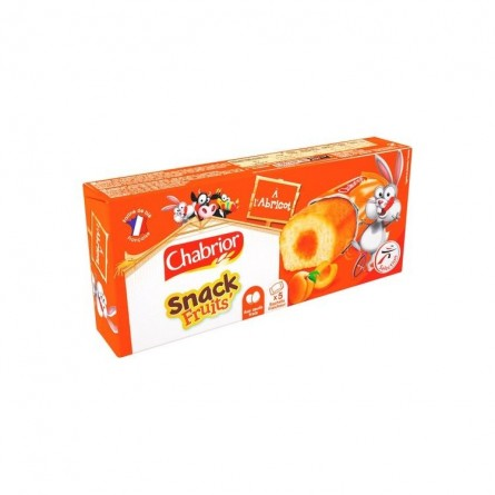 FR - Chabrior Snack fruit apricot 5x 30 gr
