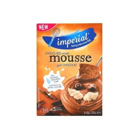 Imperial chocolate mousse 6 servings 2x 56 gr