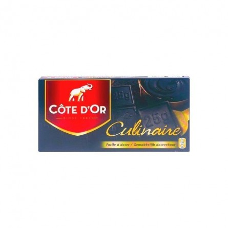 Côte d'Or tablette culinaire noir 400 gr CHOCKIES