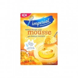 Imperial mango - passion mousse 6 servings 2x 56 gr