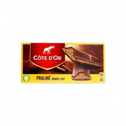 Cote d'Or chocolate Double Milk Praline 200 gr CHOCKIES