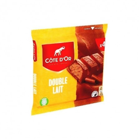 Cote d'Or Double Milk chocolate bars 4x 46 gr CHOCKIES
