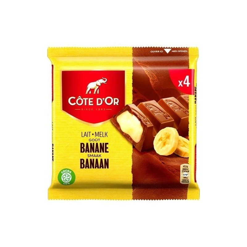 Cote d'Or milk chocolate - banana 4x 47